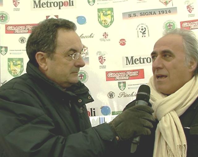 Claudio Desolati intervistato da Fabrizio Borghini ai Giochi di Carnasciale