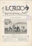 IL CALCIO Bollettino ufficiale FIGC 1915 Firenze Football Club