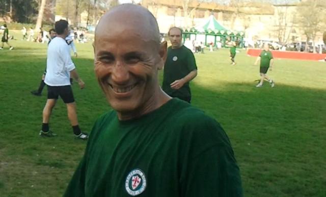 Amin, punto di forza della compagine fiorentina, uno dei migliori giocatori di questa edizione della Targa Capanni